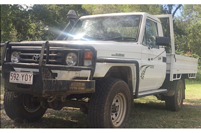 2000 Toyota L/Cruiser Ute, 5 spd man, diesel, low kms, steel tray, no rust, rego, RWC, mech A1...