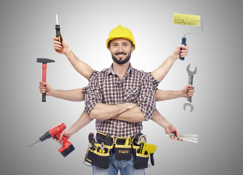 • Small carpentry jobs 