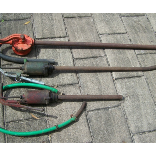 Collection of 3 Drum Pumps..All were working when stored but need some TLC. Will sell separately...