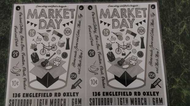 This Saturday 16 March from 6am, there is a Market Day - Mega Garage Sale at 136 Englefield Road...