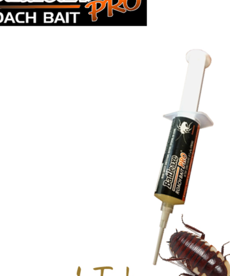 Battleaxe Pro Cockroach Bait Gel can be deployed readily to conquer territories from the dirty legs of...