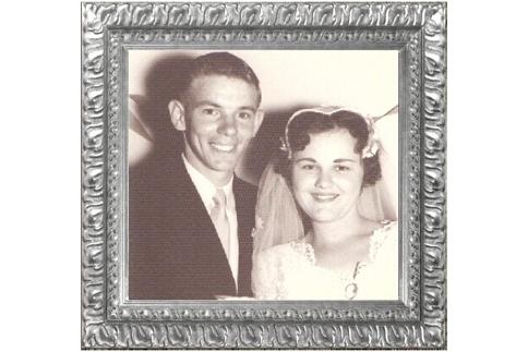 60th Wedding Anniversary  Ken & Shirley MATHERS  23.3.1959  Congratulations...