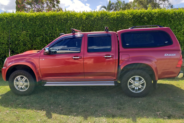 2012 Isuzu DMAX-LSU 4x4 Rego exp June, 104'kms Snorkel, UHF, LED light bar, towbar, brake controller...