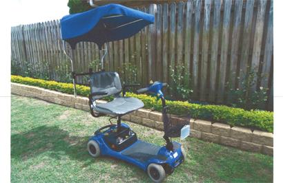 Mobility Scooter Shoprider QT4, E/C $800 ono. Ph 0407161541.