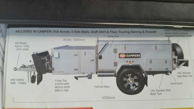 Forward Fold Cruiser High Rise, Fully off road, A/C, Generator, Solar, Shower, All Annex, Excellent...