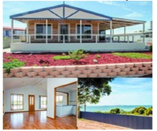 4 Peake Terrace, Denial Bay SA    $269,000 ONO    3 bed, 1 bath, large deck, water view...