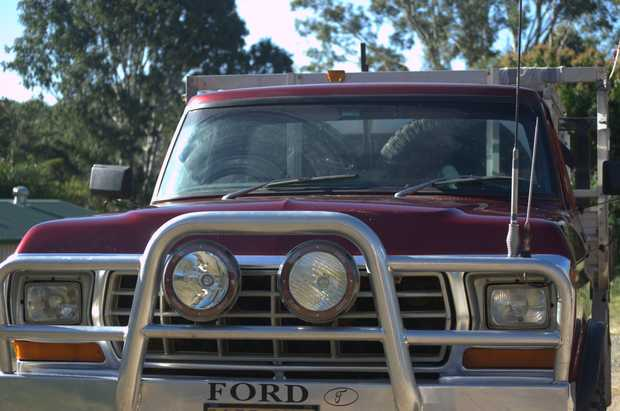 American type Ford Pick Up Ute.