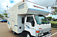 Winnebago Motorhome 4 berth, Shower/toil, A/C  RWC, 6 mths rego, gas cert, GC,  Phone...