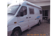 2003 Mercedes Sprinter 313 Auto, show/toil, solar, gas elect hot water, swivel seats, 3-way fridge...