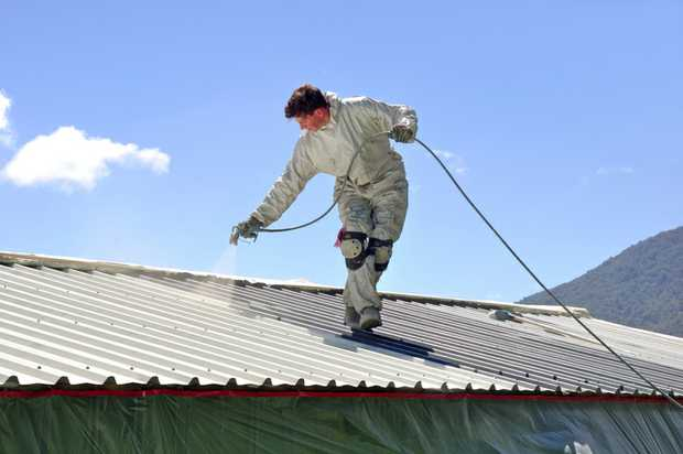 Have your roof repainted and cleaned