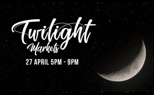 Twilight MarketsSaturday 27 April 5:00-9:00pmHeld at Bridgeman Baptist Community Church, 379...