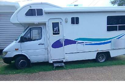 6 Spd, Auto, 2003, 2 berth shower, toilet, Reg, runs well, good tyres good cond, $41,000 Ph:...