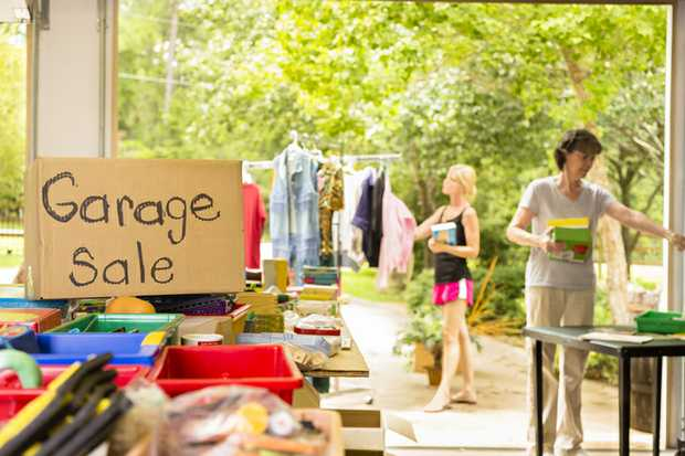 COMBINED GARAGE SALE