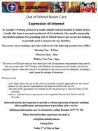 Out of School Hours Care Expression of Interest
