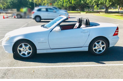 2000 Mercedes Benz 230 SLK Kompressor.