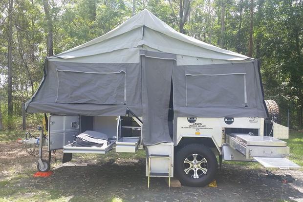Jawa Off Road Camper Trailer 2015Full Annex, Shower Ensuite Solar 12V battery & gas bottle...