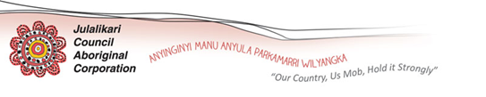POSITIONS VACANT      Julalikari Council Aboriginal Corporation has the following...