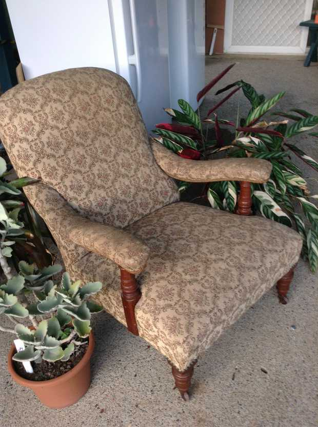 A rare grandmothers chair from 1910  Call for enquires PH: 66529852