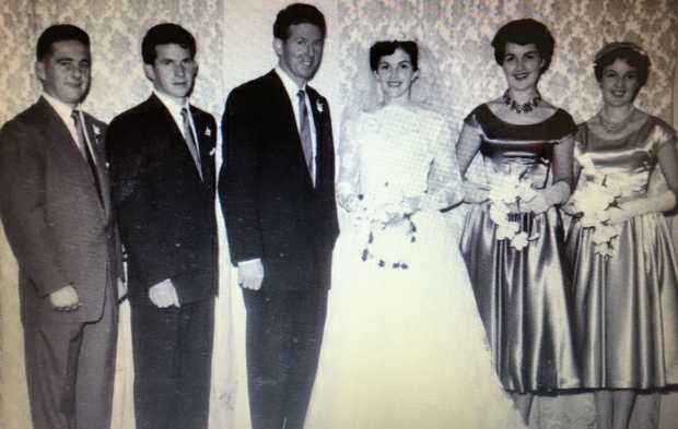 Congratulations JOHN and BETTY WEIR Married in Bangalow on May 30, 1959 Wishing you both many more...