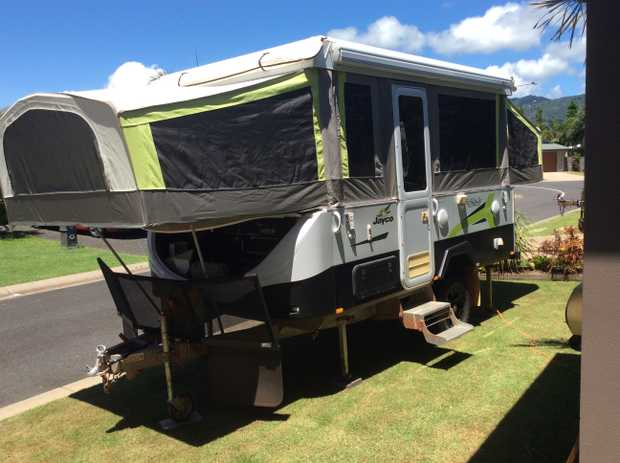 JAYCO EAGLE 2016   Outback Fiamma Awning TV Stereo Stone Guard Flies to Bed Ends 2 x 100amp...