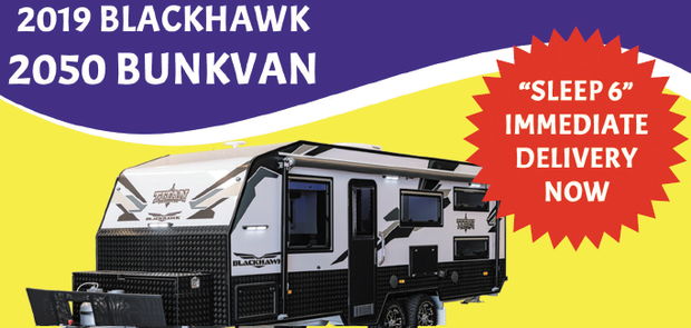 BLACKHAWK 2050 BUNKVAN