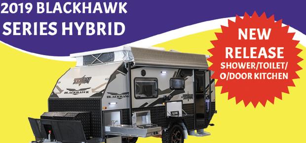 BLACKHAWK SIERRA HYBRID   NEW RELEASE   SHOWER/TOILET / OUTDOOR KITCHEN   Price Drive...