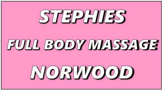 STEPHIE'S FULL BODY MASSAGE     Eftpos  Online  Open 7 Days   follow us...