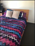 PRICE DROP! MUST GO! Queen Bed Solid Wood Frame