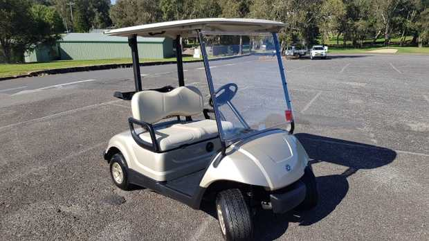 If you are looking for a basically new golf car that has done very little work due to illness this is...