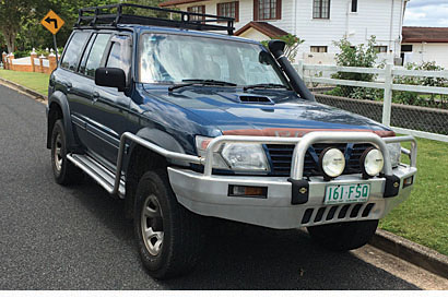 REDUCED!!! Make an offer! NISSAN PATROL 3L diesel, 2000, 273,000 kms, no rust, GC, rego & RWC...