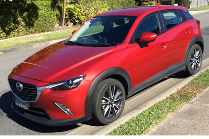 2015 Mazda CX3 SUV. 