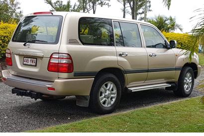 2004 Toyota Landcruiser Kakadu, V8 petrol 100 series 291,000kms, no beach, exc cond, many extras...