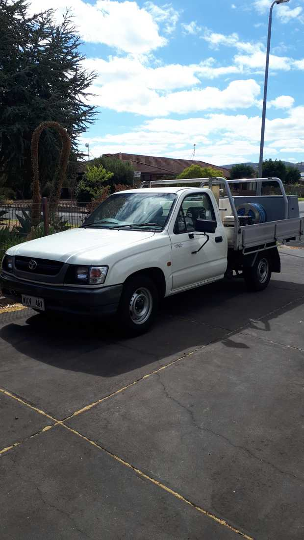2003, fully equipped pest control UTE. Honda motor, 2 chemical tanks (1x200L, 1x100L), hose reel, 2...