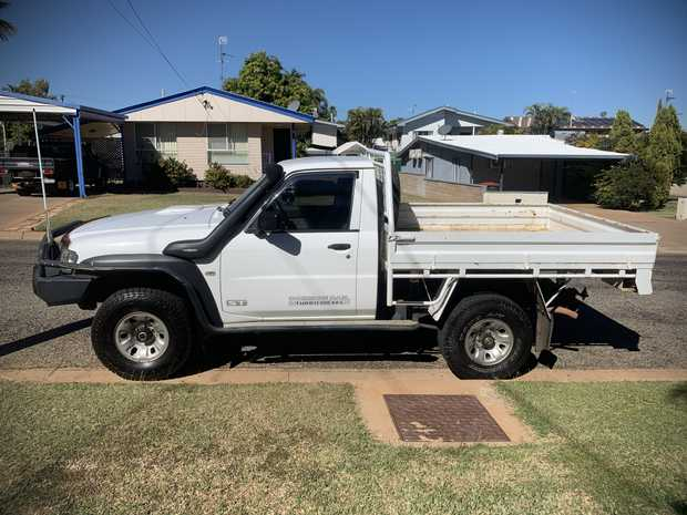 2012 GU PATROL UTE   