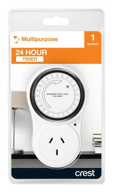 Crest - PWA05041B - 24 Hour Timer | Electrical Accessories