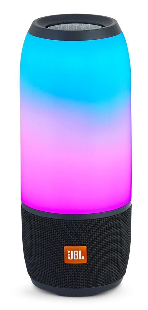 JBL - Pulse 3 Portable Bluetooth Speaker - JBLPULSE3BLKAM | Audio