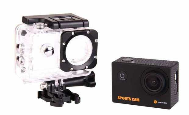 FHD 1080P @ 30fps 8.0 Mega Pixel Still Image Resolution Waterproof Case Build-in Microphone LCD Viewing...