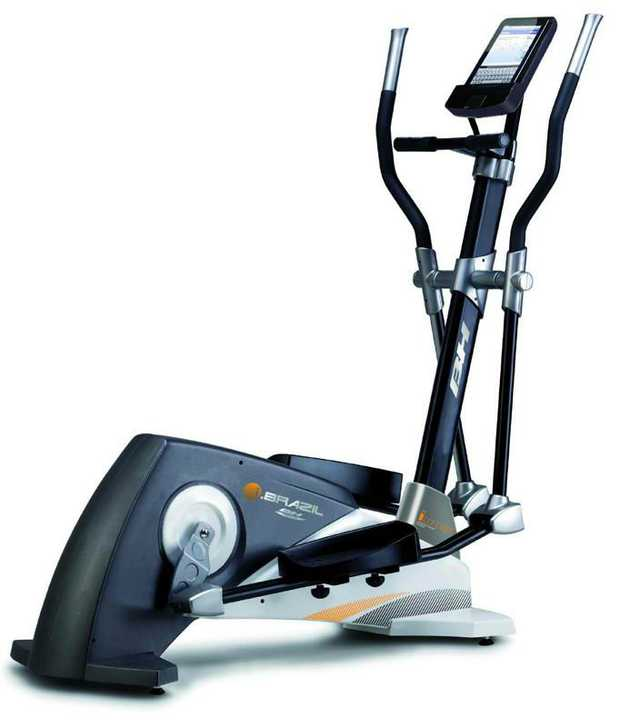 """Heavy duty home grade elliptical Four machines in one Large 18' stride length Built in electronic 5.5""""..."""