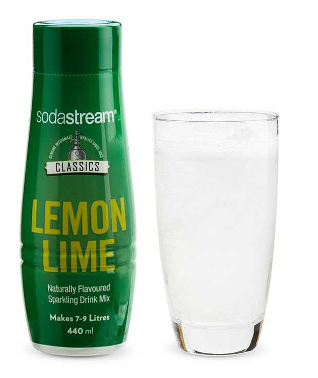 Makes up to 7-9L of flavoured sparkling water Thirst quenching citrus kick Naturally flavoured...