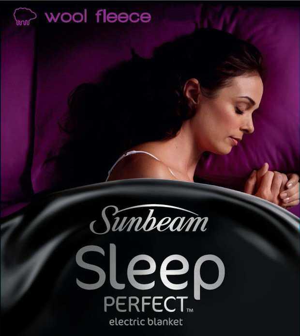 100% Australian Wool fleece electric blanket 5 minute fast heat up 5 heat settings Automatic...
