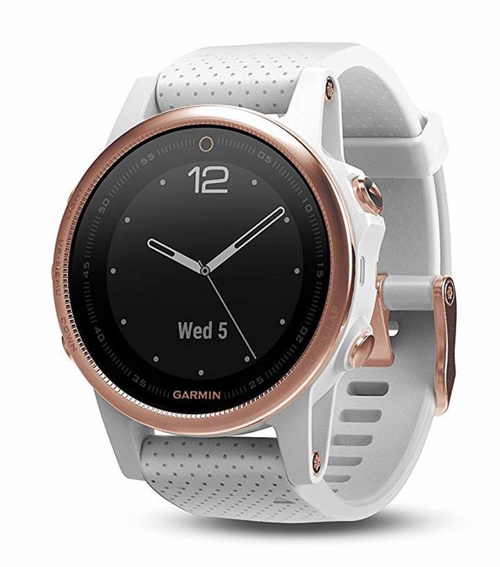 Garmin - fenix® 5S GPS Watch - Sapphire Rose Gold | Watches | | The