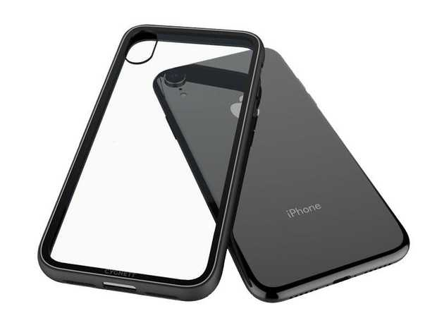 Japanese 9H Scratch Resistant Tempered Glass Case Case That Feels Just Like Your iPhone Shock Absorbent...