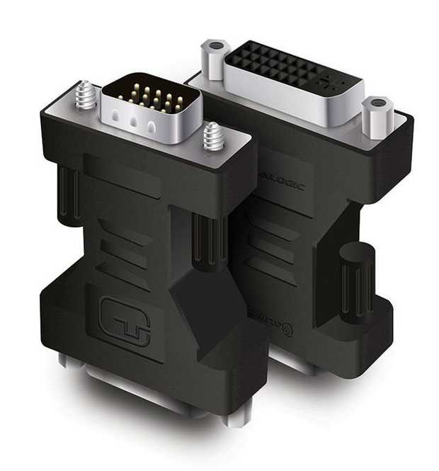 Up to 2048 x 1536 resolution Convert a VGA signal to DVI signal Moulded design for durability Built...