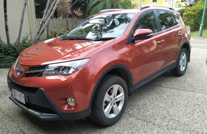 RAV 4 AWD AUTO 2013 Dec, 96,000 kms, VGC, always garaged, full Toyota Serv record, 11 mths rego...