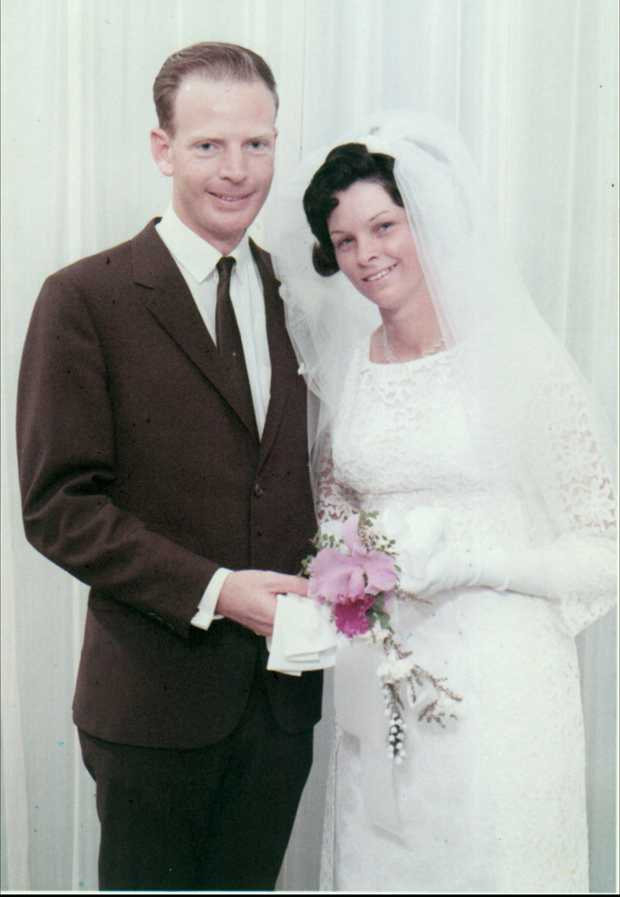 Bill and Beryl Metcalfe 28 June 1969 You make the whole marriage thing seem easy. May you both continue...