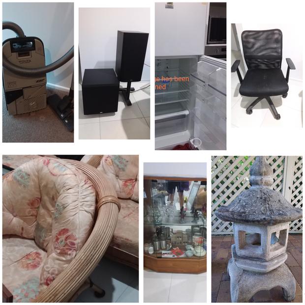 House & garage full including fridge, lounge, dining room, bedroom furniture. Gym, camping, gardening &...