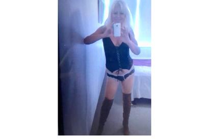 "Age: 58 Eyes: Hazel Hair: Blonde Height: 5'7"" / 170cm Body Type: Slim Dress size:..."