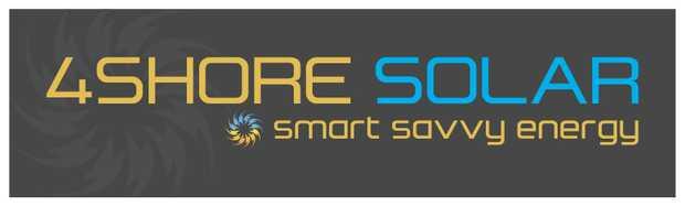 'Your local solar specialist'  1300 01 SOLAR  info@4shore.com.au