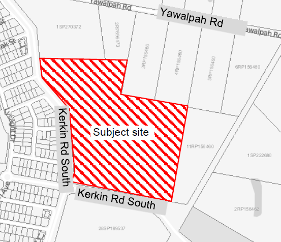 49, 87, 99 & 103 KERKIN ROAD SOUTH, COOMERA, QLD, 4209   EXISTING SCHOOL AND PROPOSED EARLY...