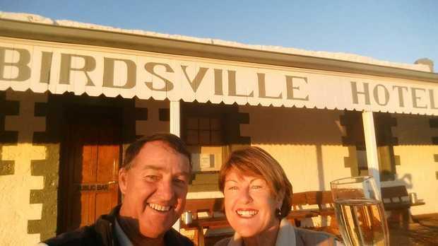 Graham Reid – Veteran guide of70 Brisbane to Lake Eyre flights Brisbane departure 10...